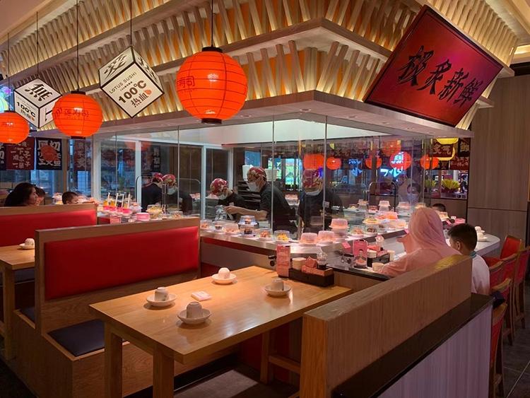 海口莲寿司开业